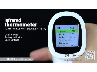 Infrared thermometer جهاز قياس درجة حرارة الجسم عن بعد